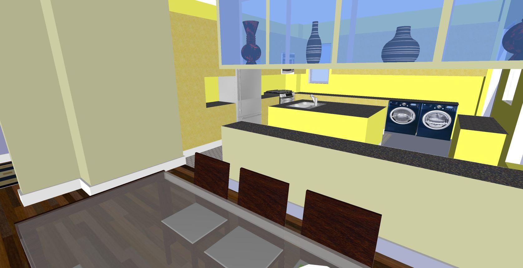 Kitchen Expansion Virtual Renovation